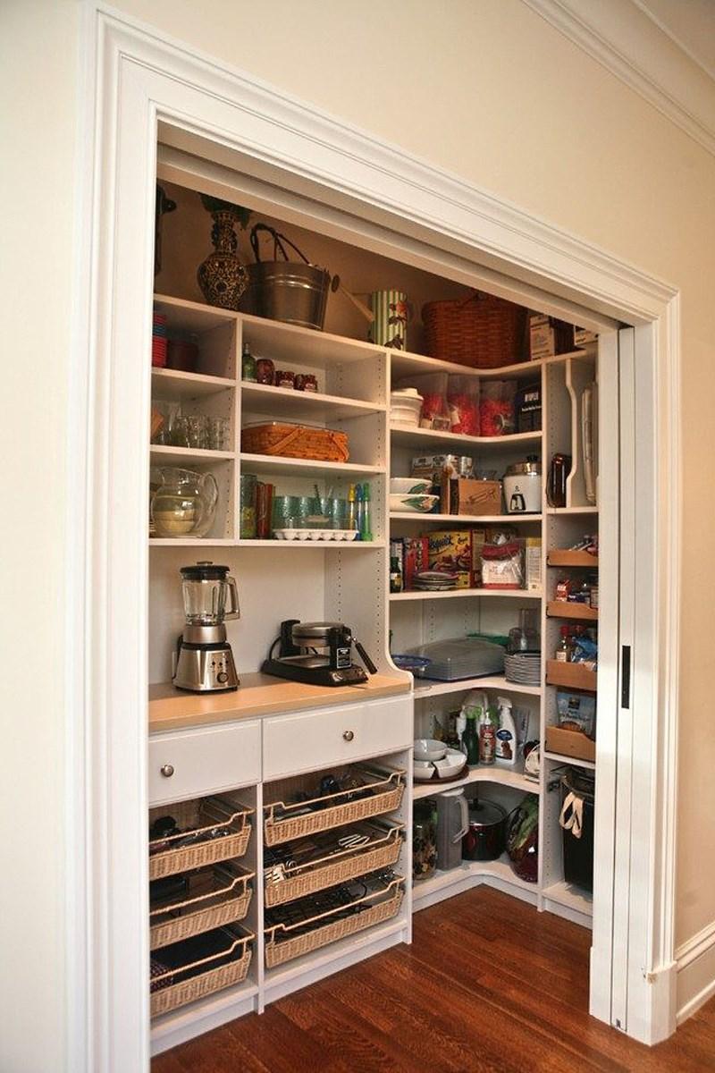 Встроенный шкаф для кухни