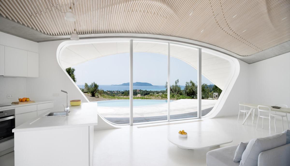 Акустический потолок в загородном доме