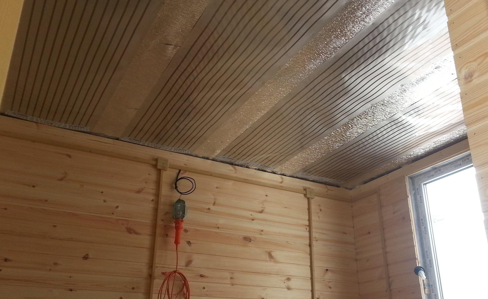 Инфракрасный потолок с термозащитой