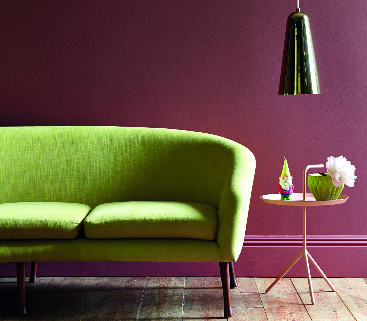 Перетяжка зеленого дивана