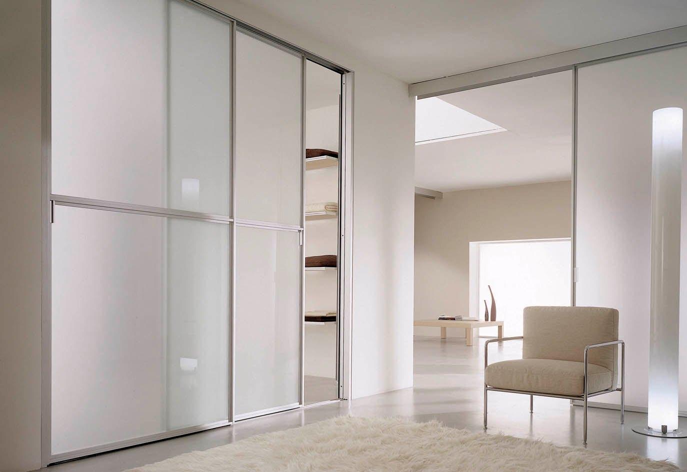 Алюминиевые двери для шкафа