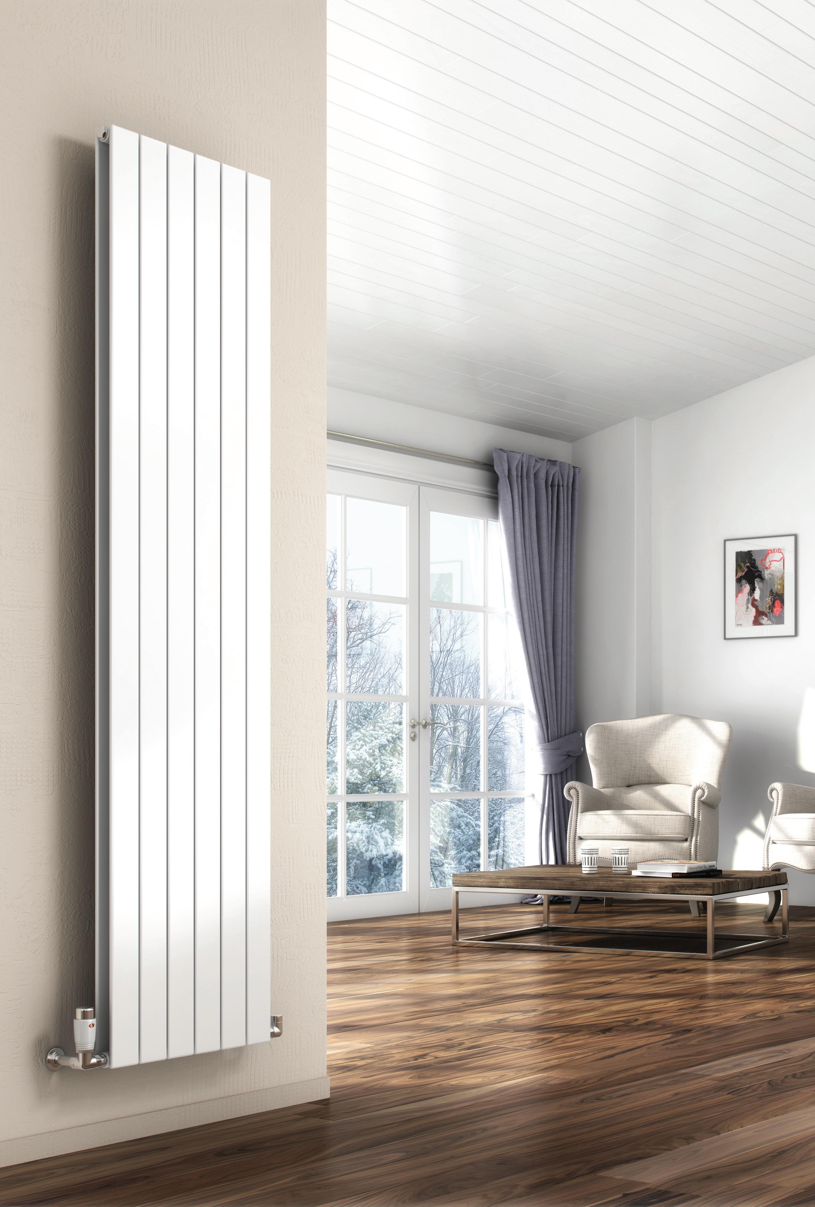 Алюминиевый вертикальный радиатор