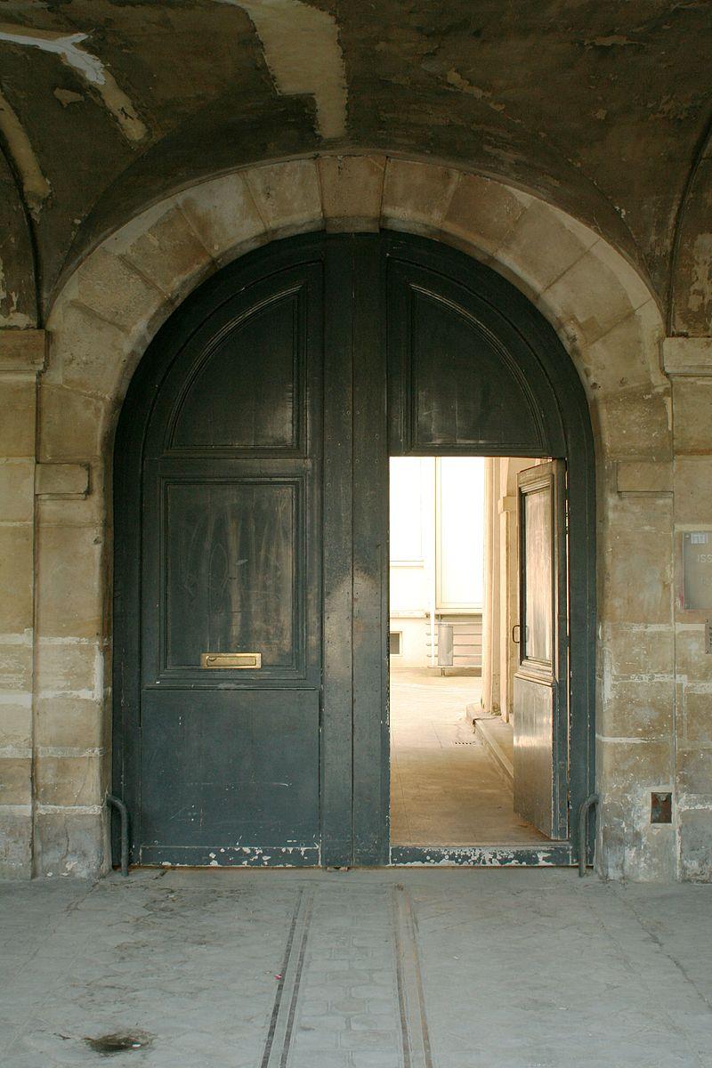 Арочные деревянные ворота