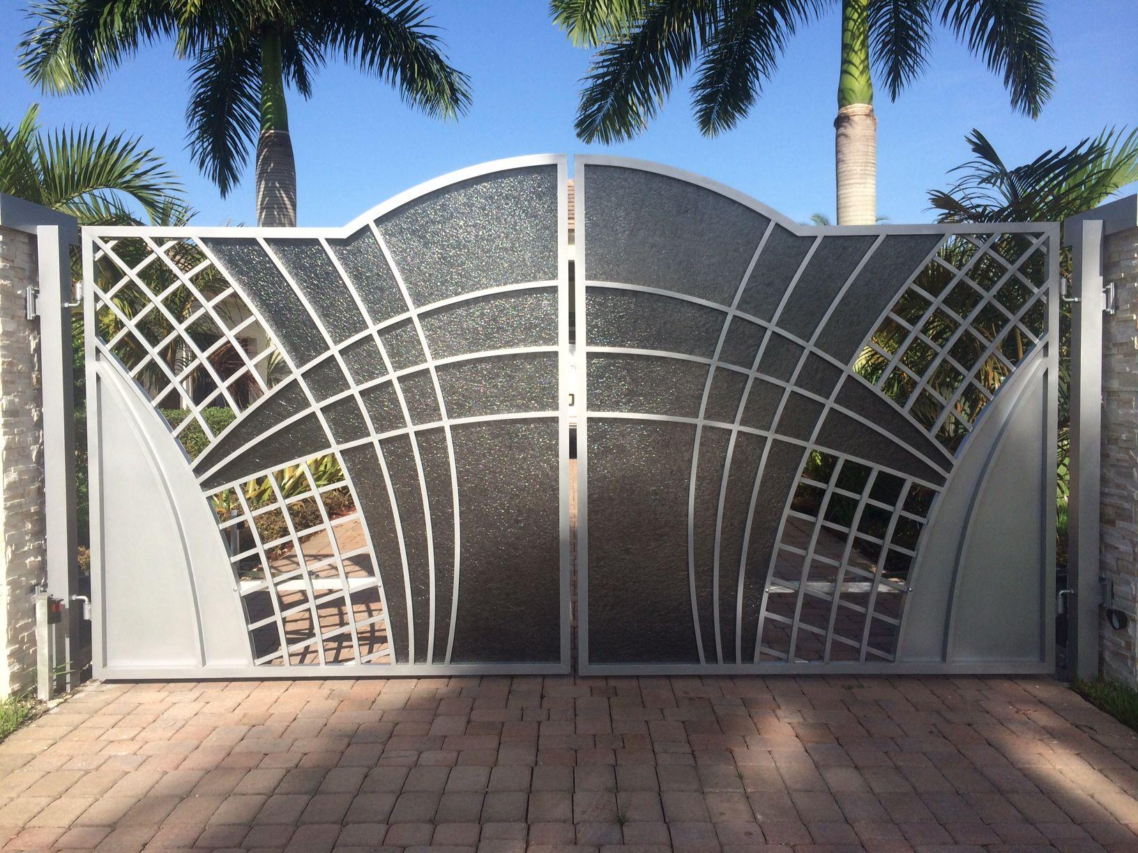 Автоматические стальные ворота