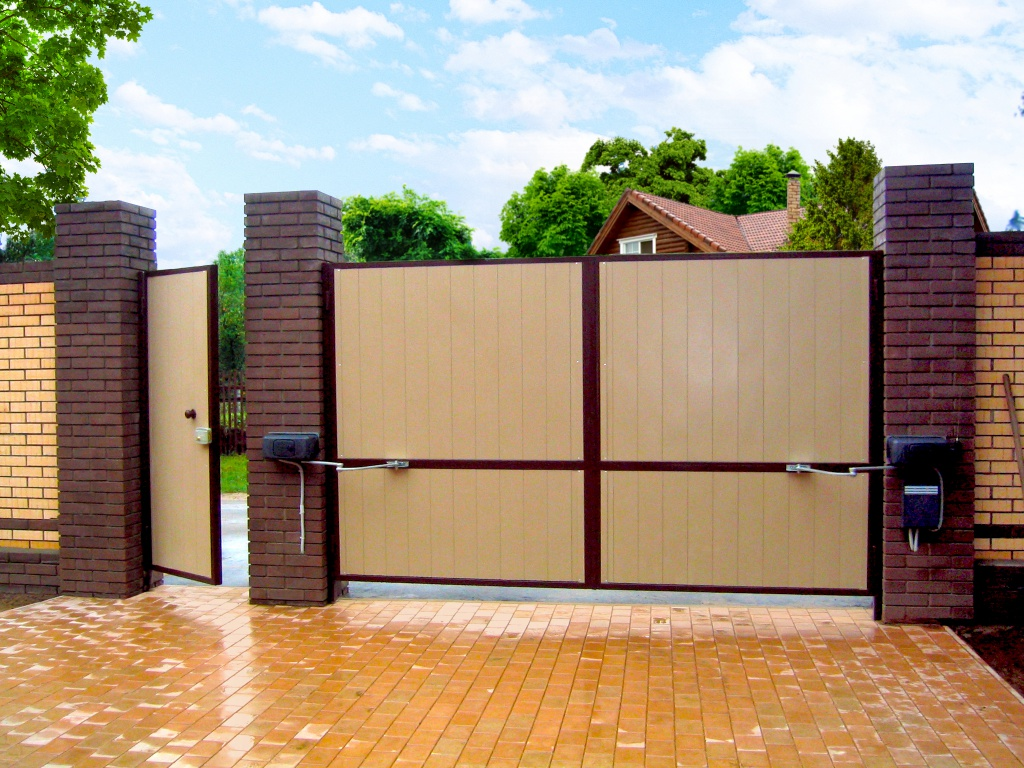Автоматические подвесные ворота