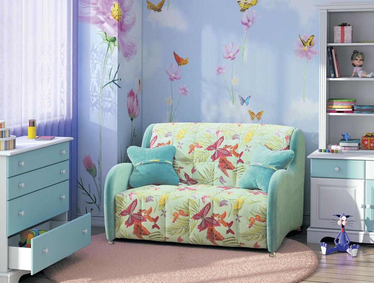 Диван для девочки с бабочками
