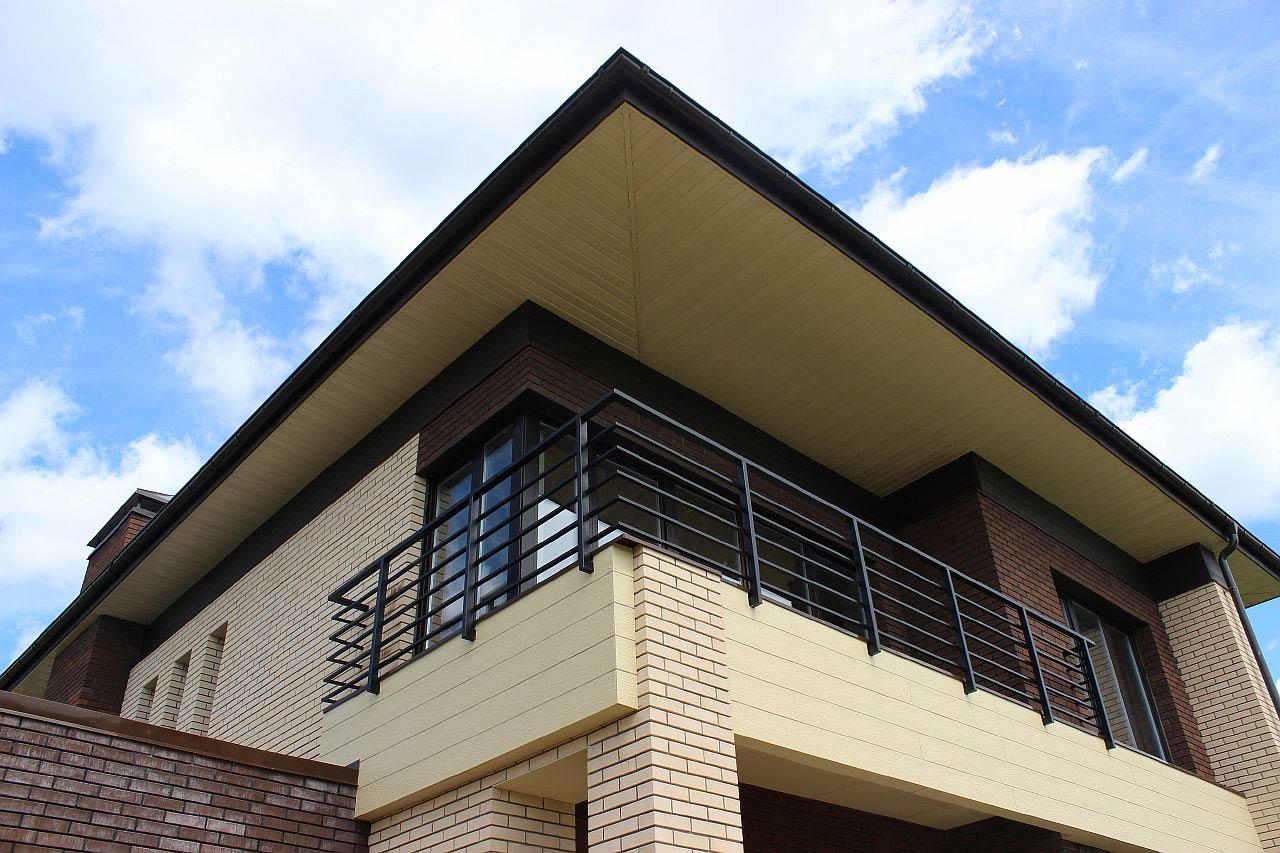Фиброцементный сайдинг для балкона
