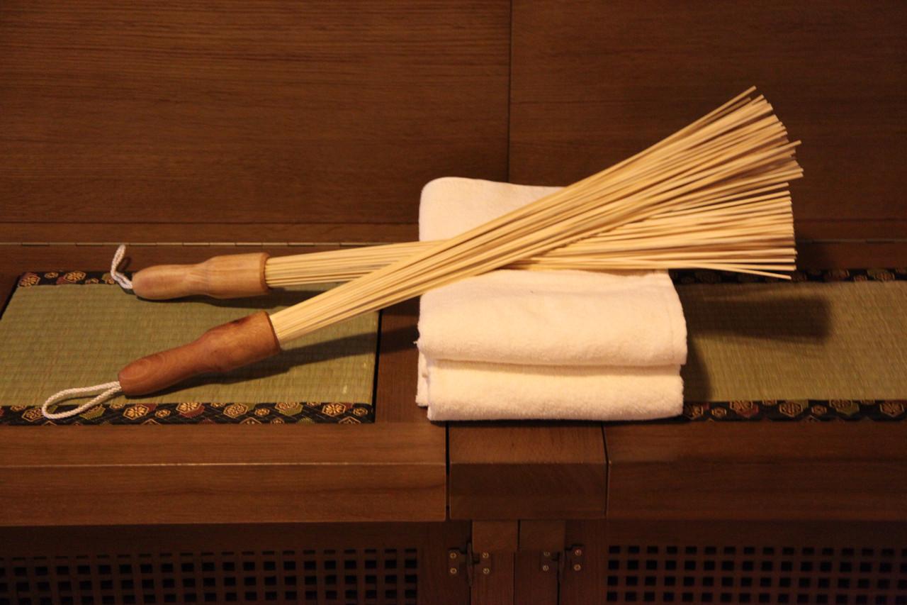 Бамбуковый веник для бани