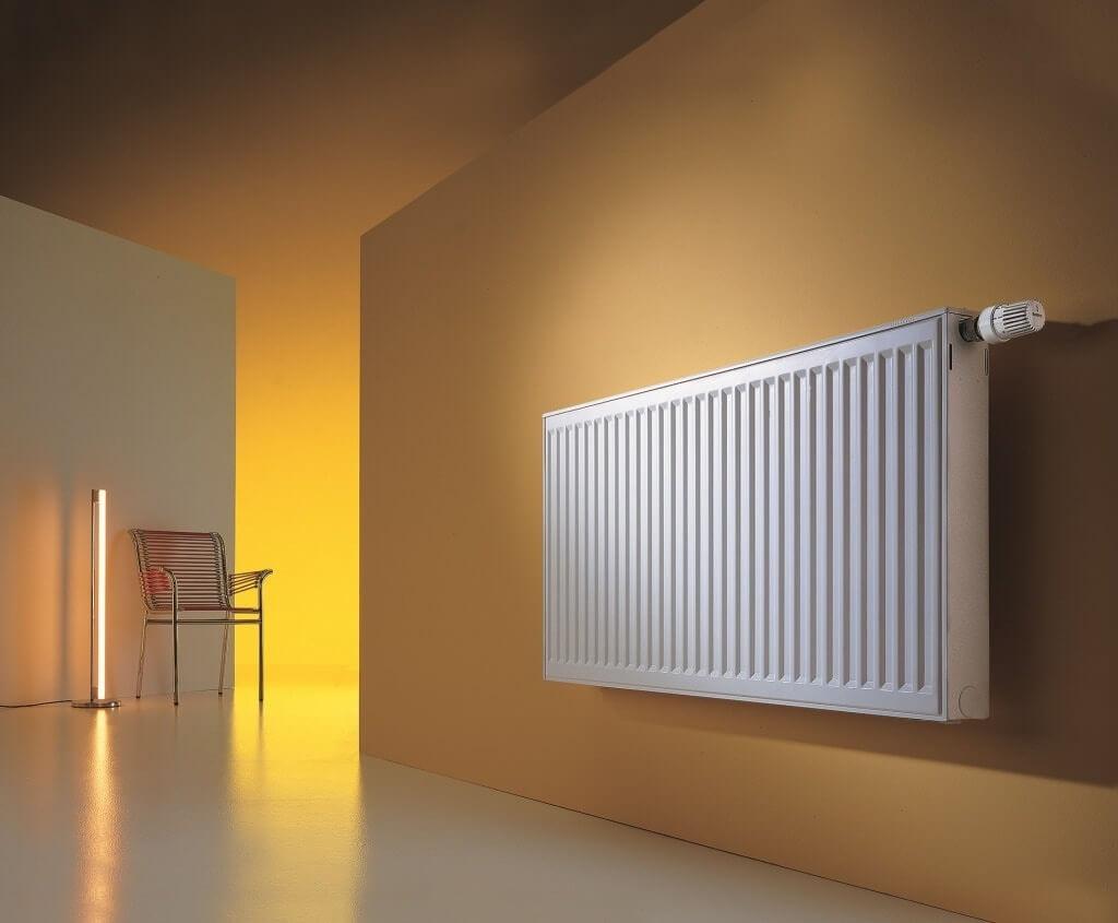 Белый алюминиевый радиатор