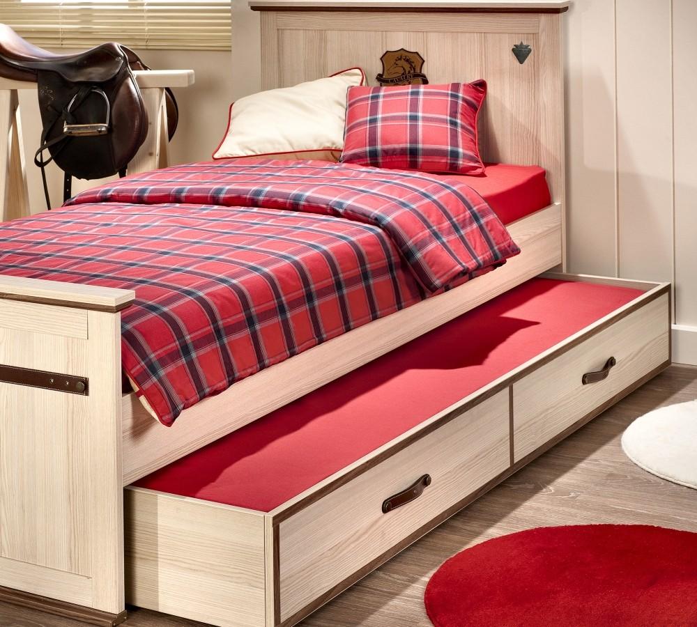Выдвижная кровать – полноценное место отдыха для взрослых и детей (21 фото)