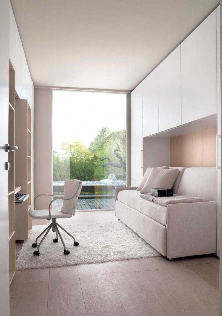 Белый диван для подростка
