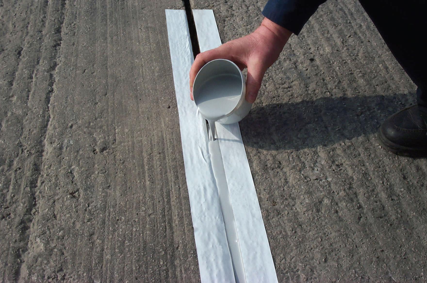 Полиуретановый герметик для бетона