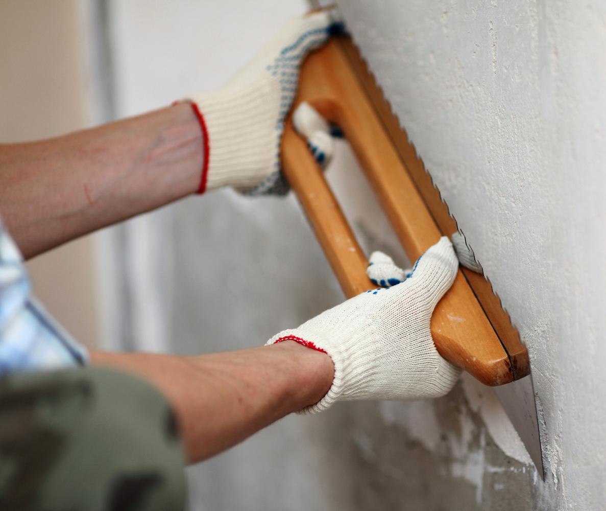 Акриловая шпаклевка для бетона