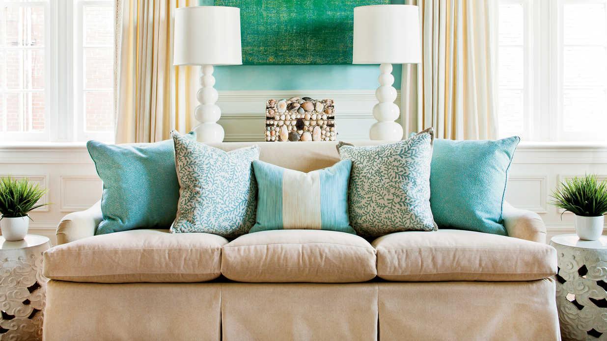 Все о диванных подушках (27 фото)