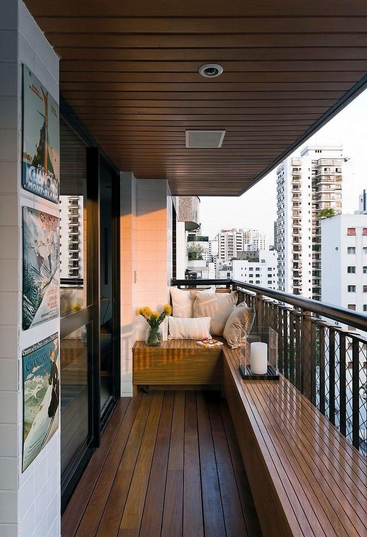 Черный дизайн балконной двери
