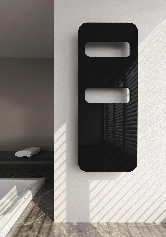 Черный алюминиевый радиатор