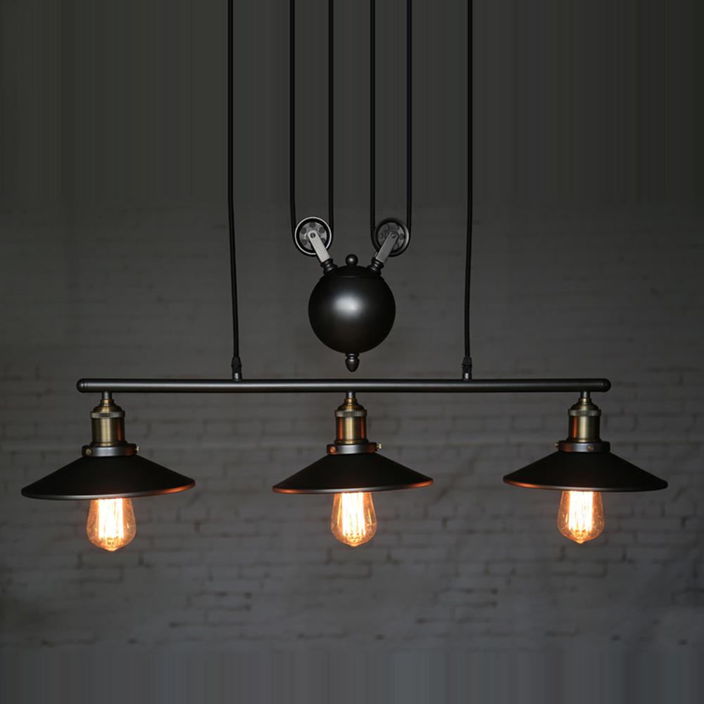 Лампа Эдисона черного цвета