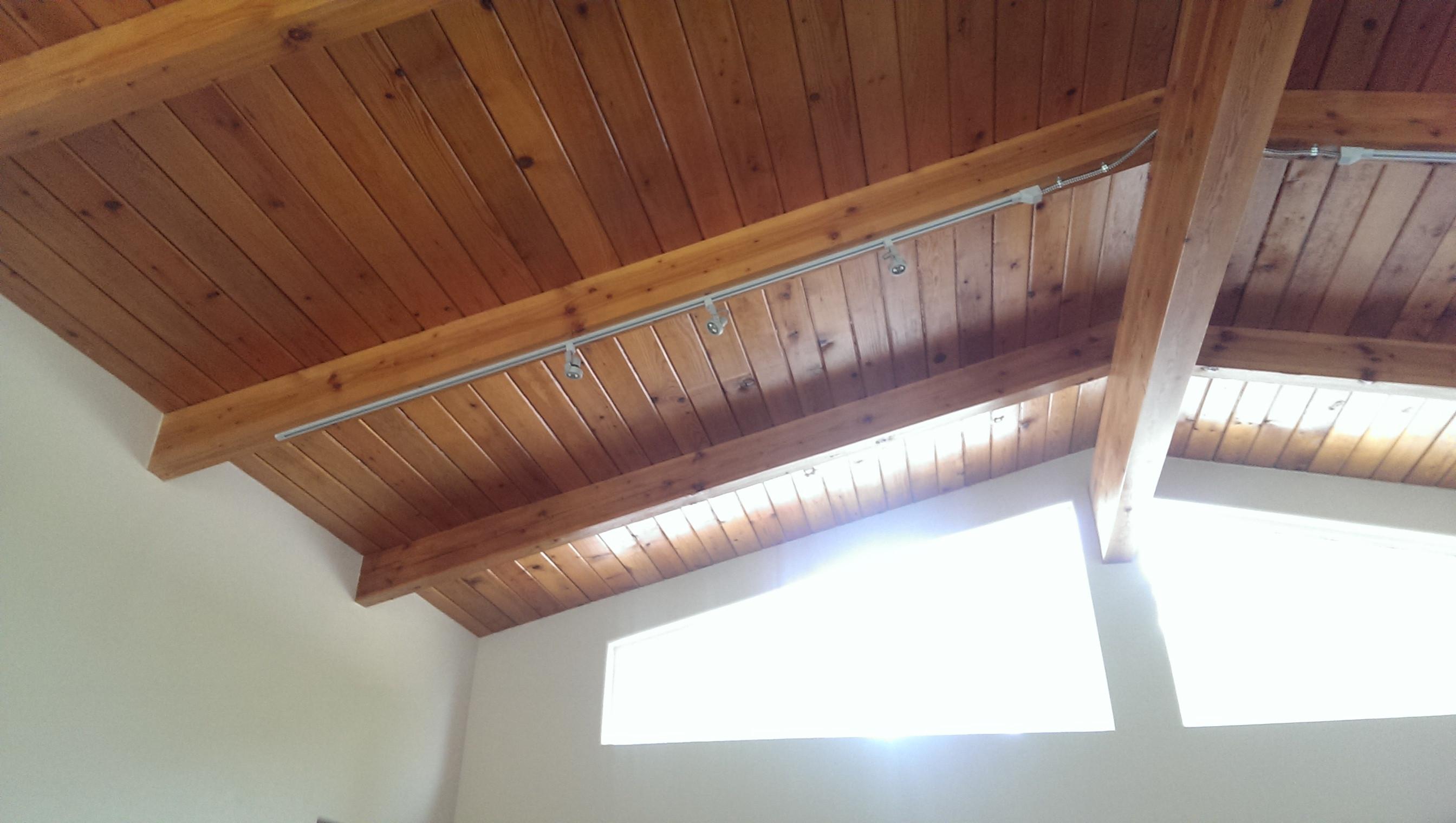 Утепление деревянного потолка