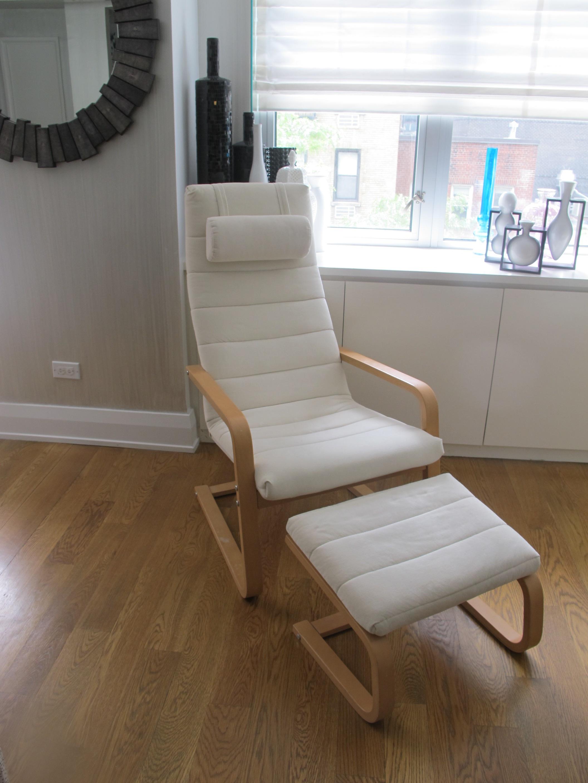 Кресло поэнг деревянное