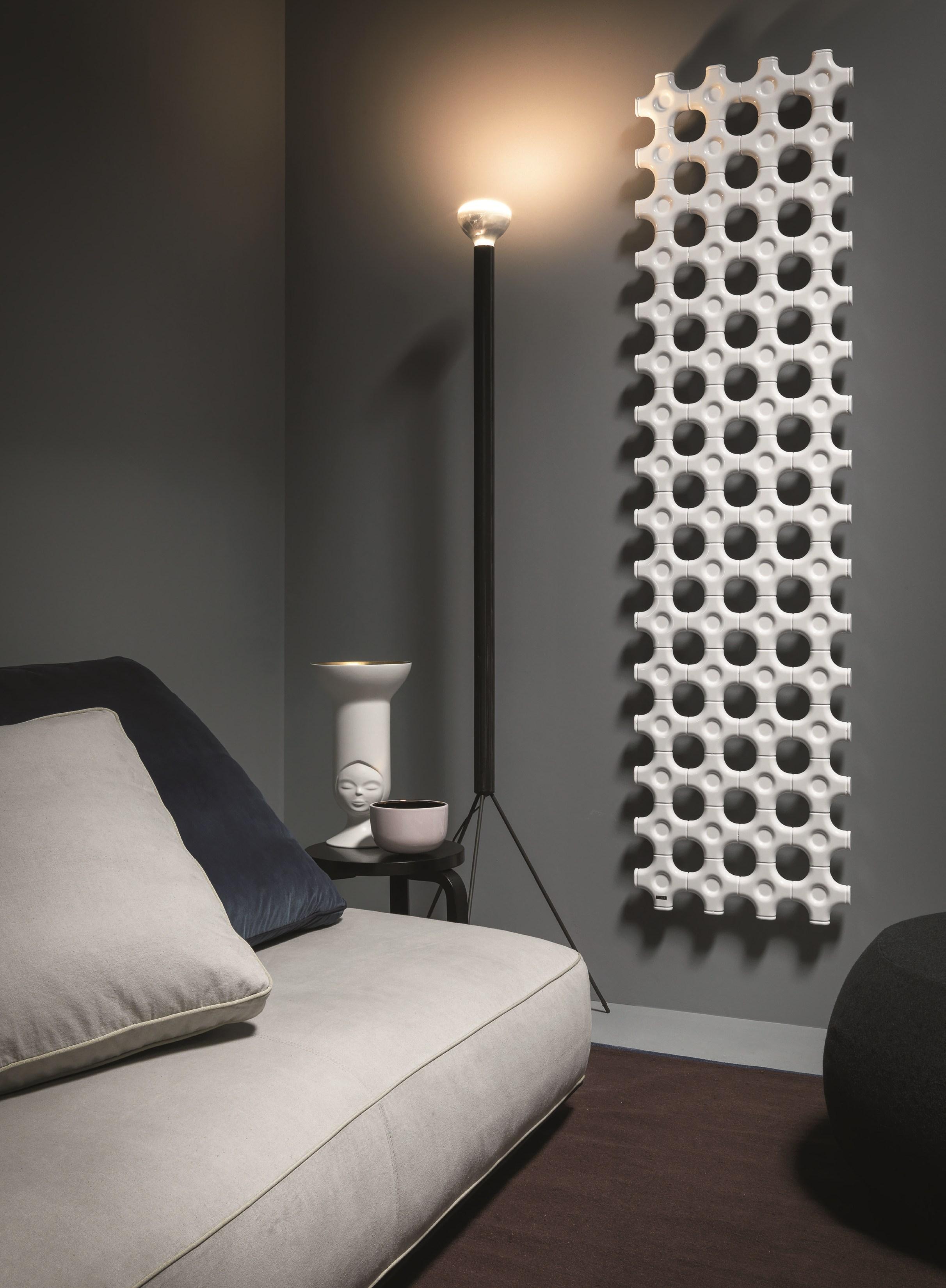 Дизайн вертикального радиатора