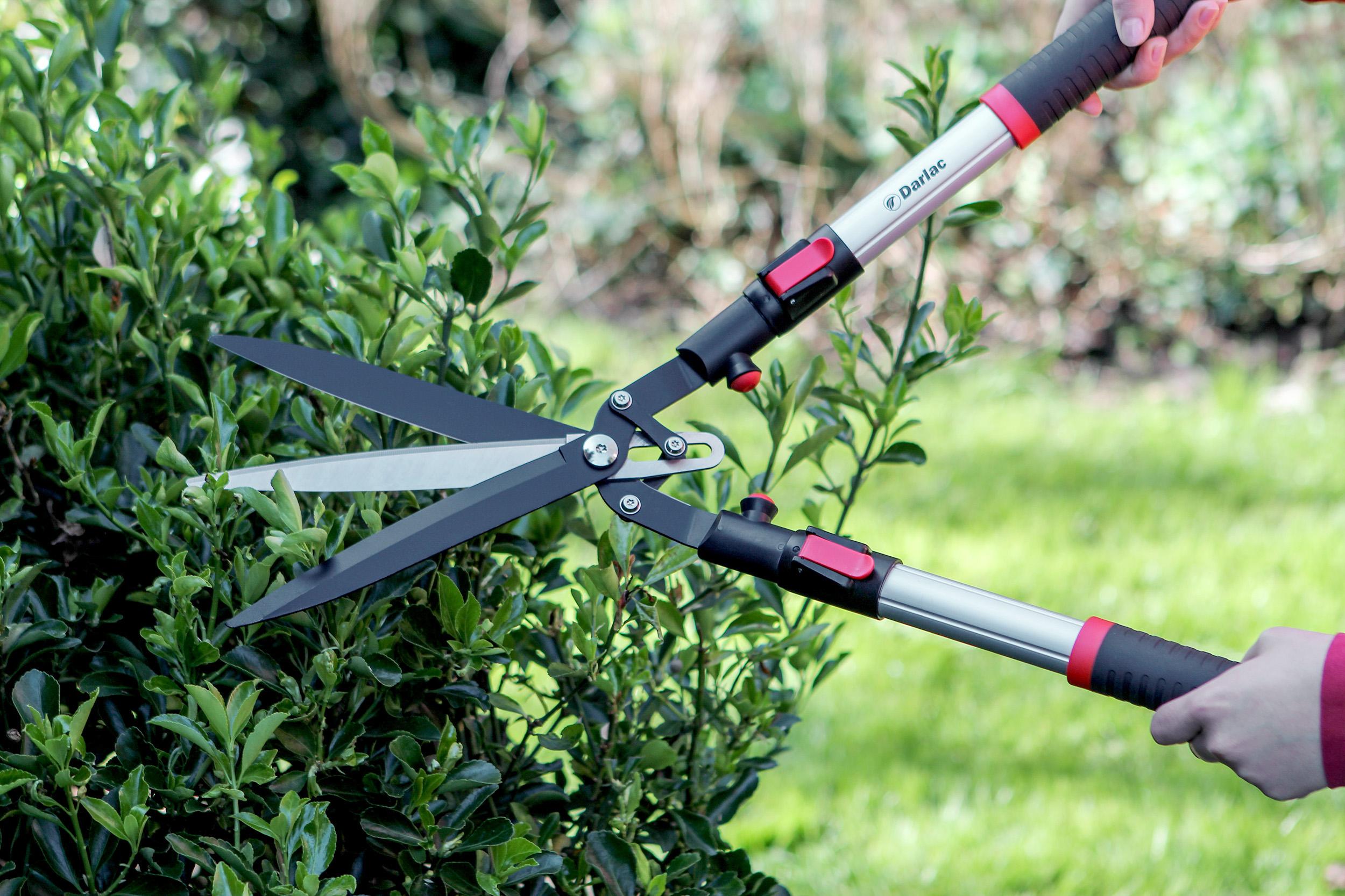 Садовые ножницы длинные