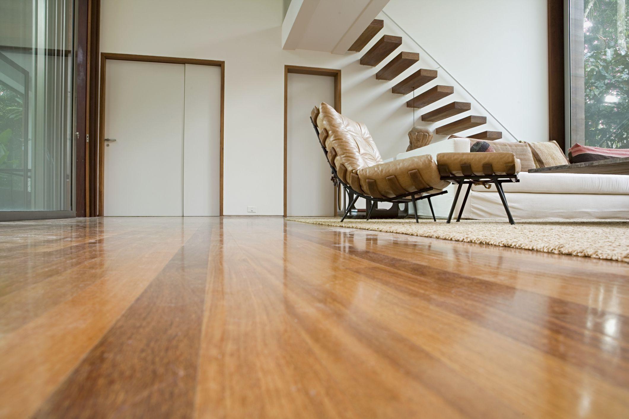 Ламинат на бетонный пол в доме