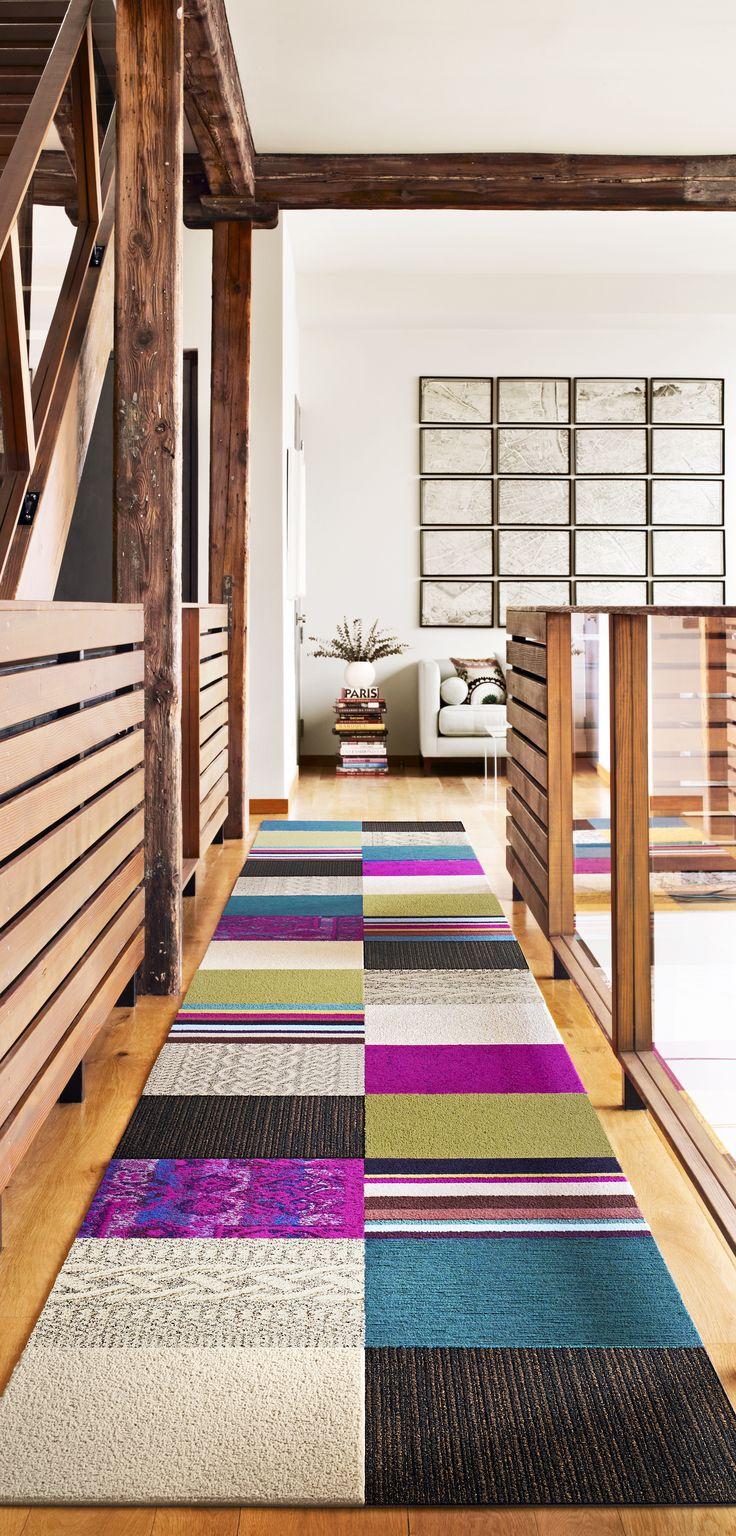 Дорожка из ковровой плитки