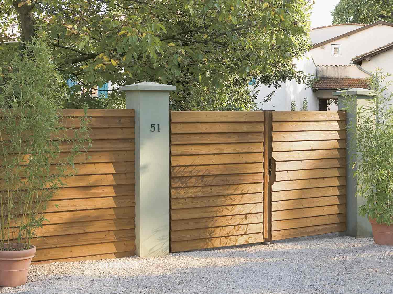 Ворота из досок