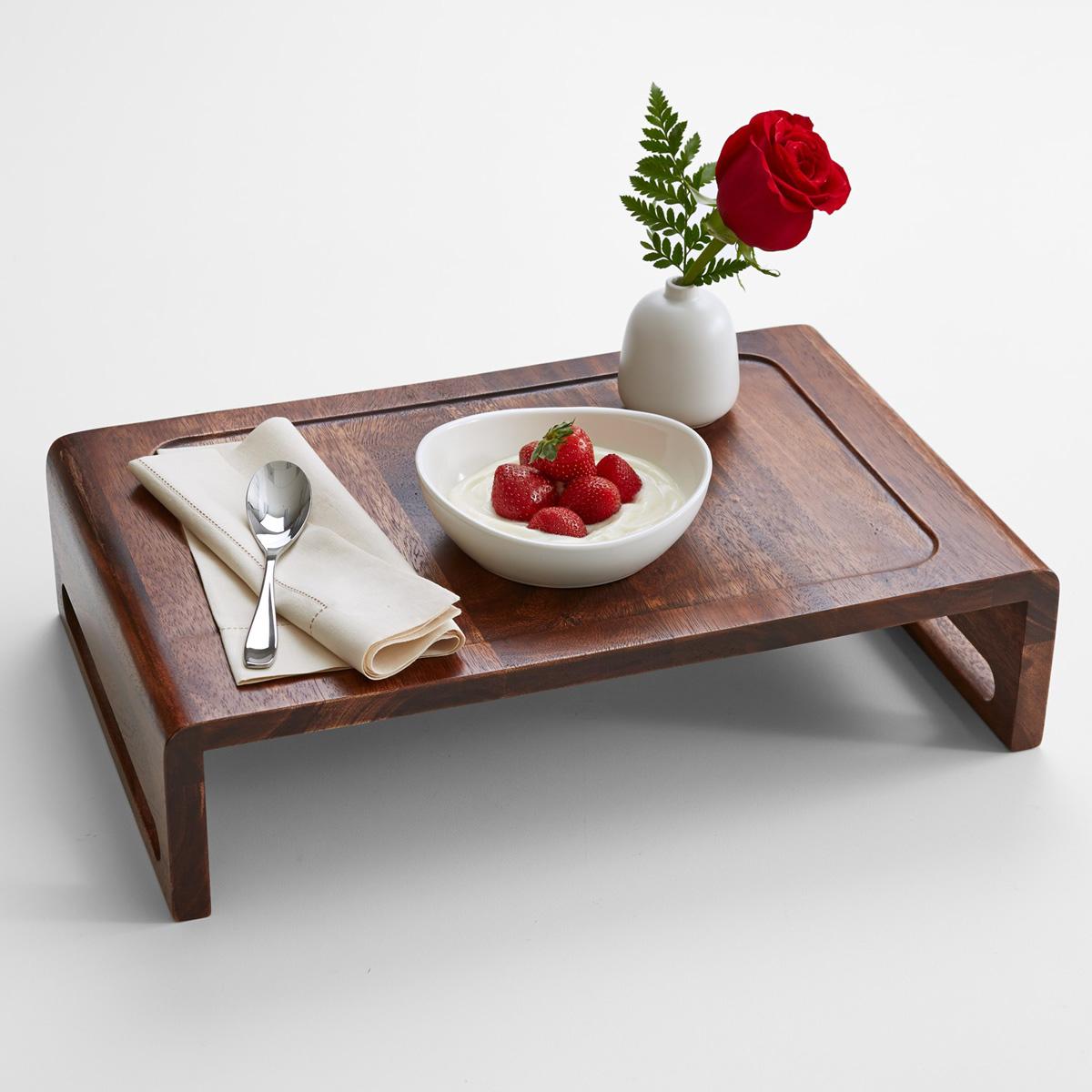 Столик для завтрака из дуба