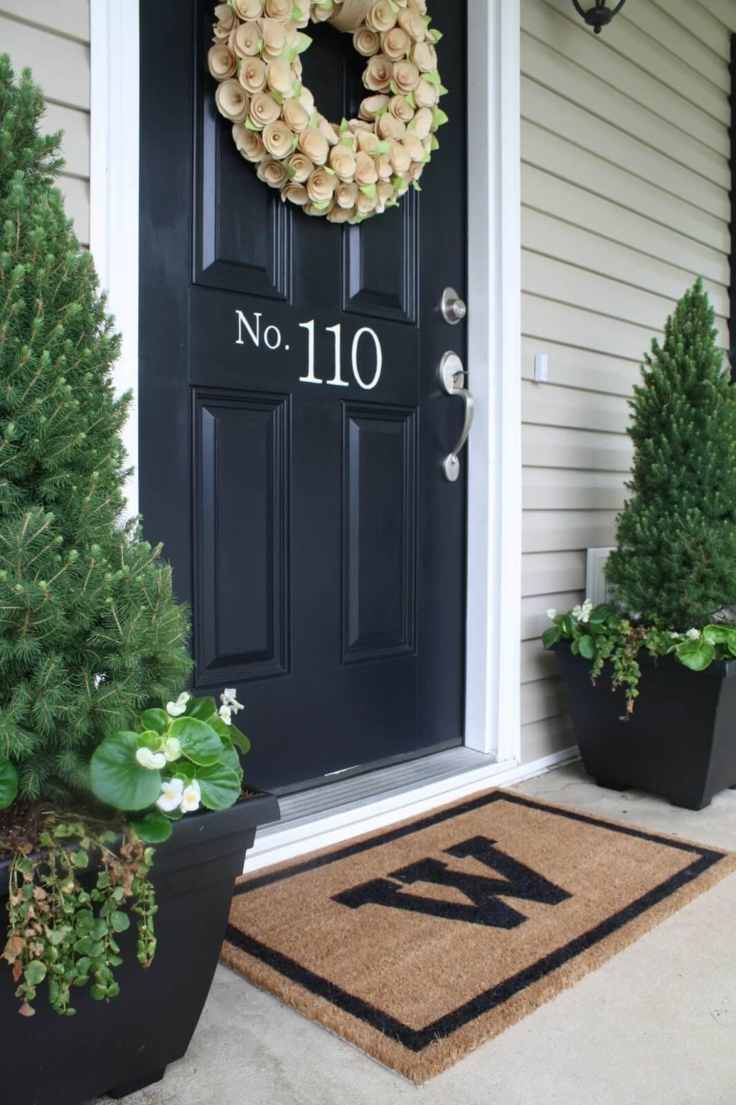 Табличка на дверь дома
