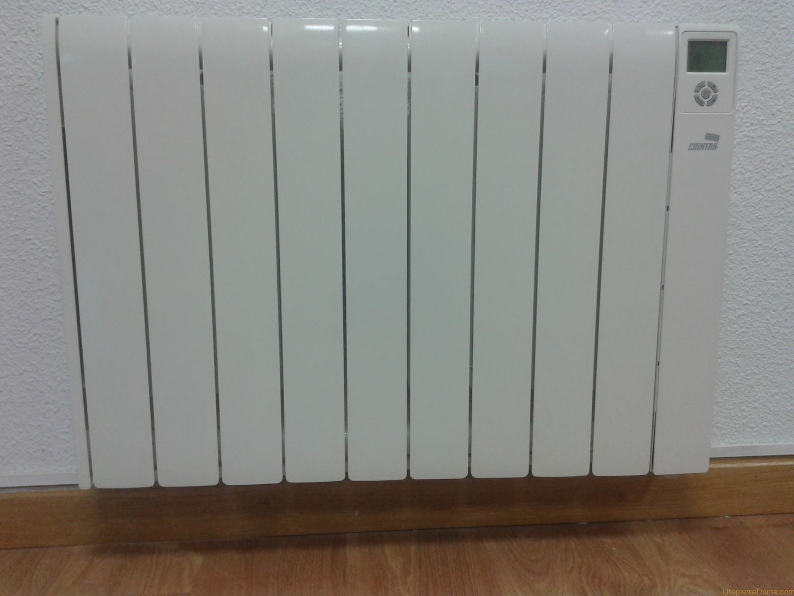 Электрический биметаллический радиатор