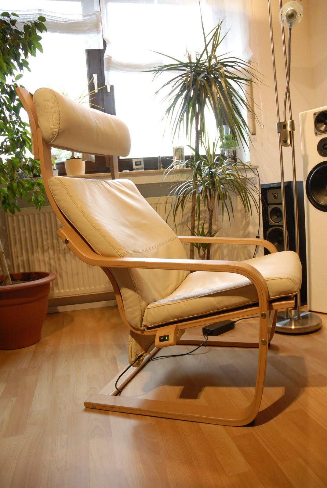 Кресло поэнг электрическое