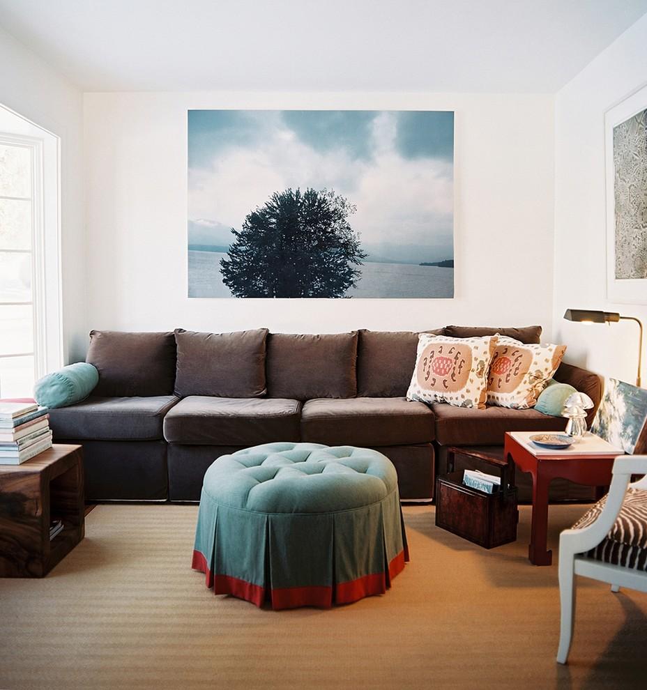 Диванные подушки в стиле этно