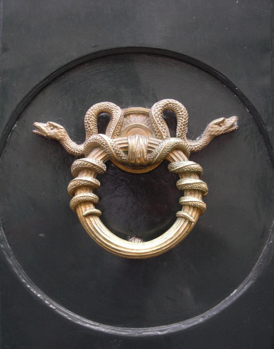 Дверной звонок фигурный