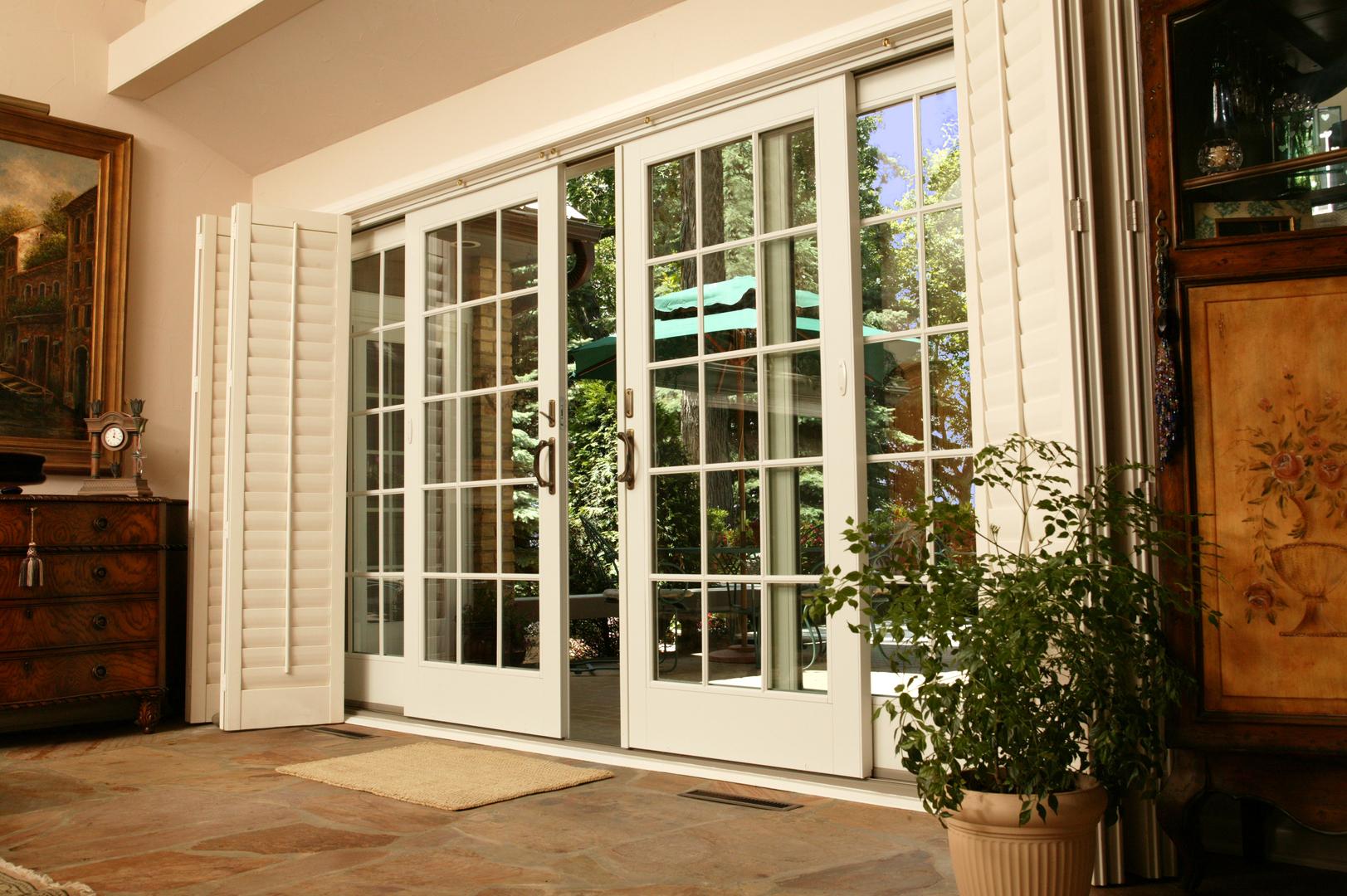 Дизайн французской балконной двери
