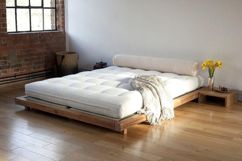 Кровать-футон в японском стиле