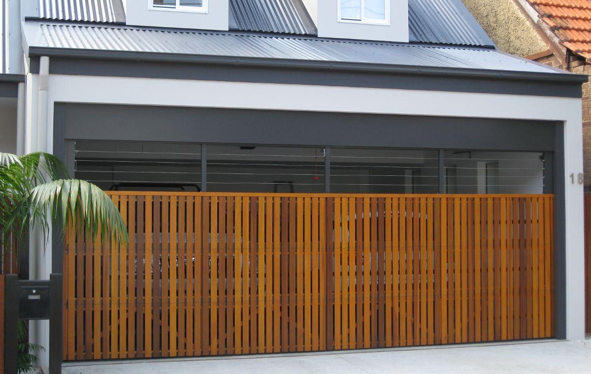 Вертикальные гаражные ворота