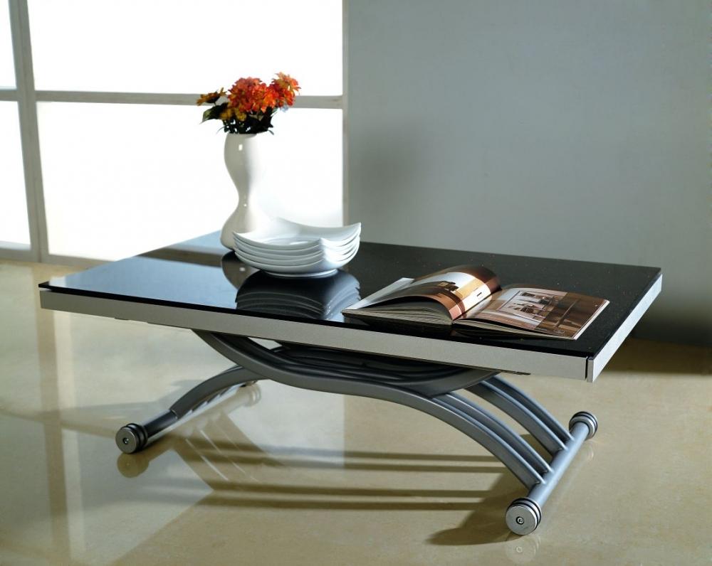 Глянцевый стол трансформер