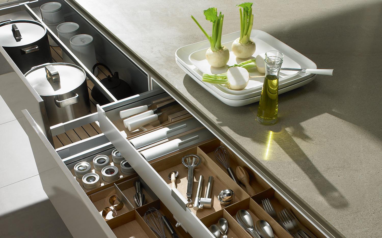 Хранение кухонных аксессуаров