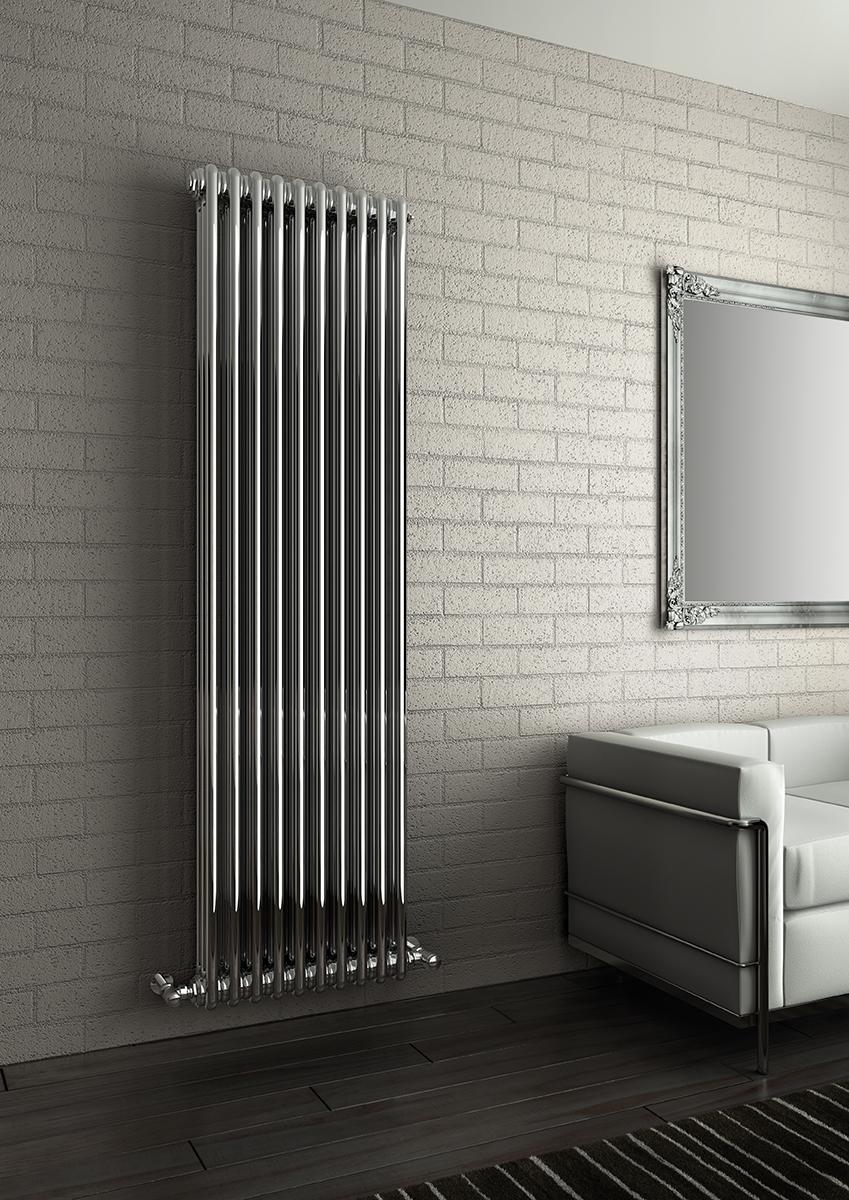 Хромированный биметаллический радиатор