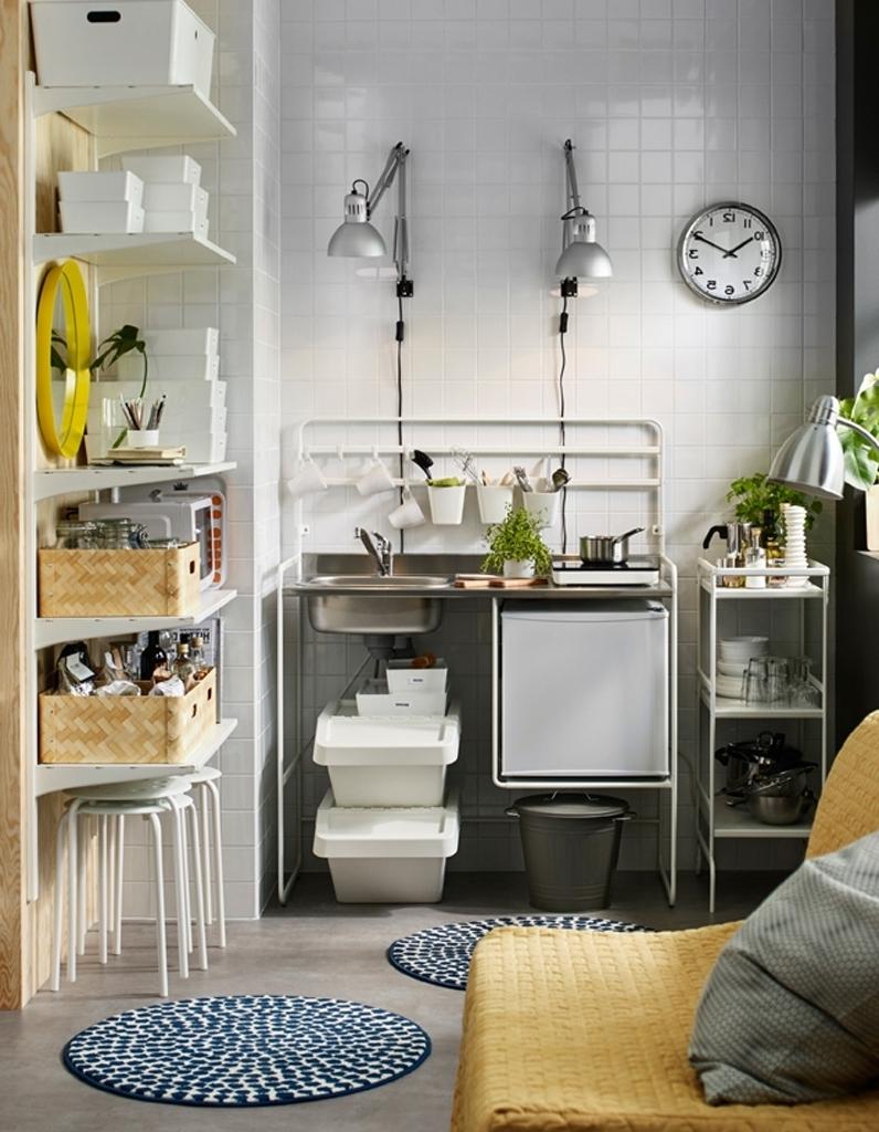 Кухня IKEA в хрущевке