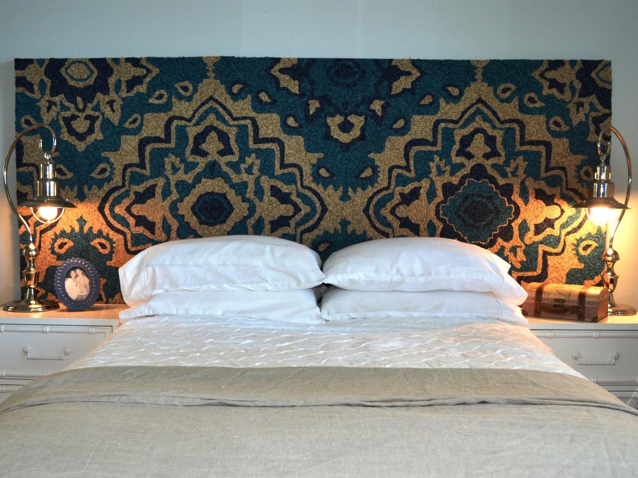 Ковер на стену в изголовье кровати