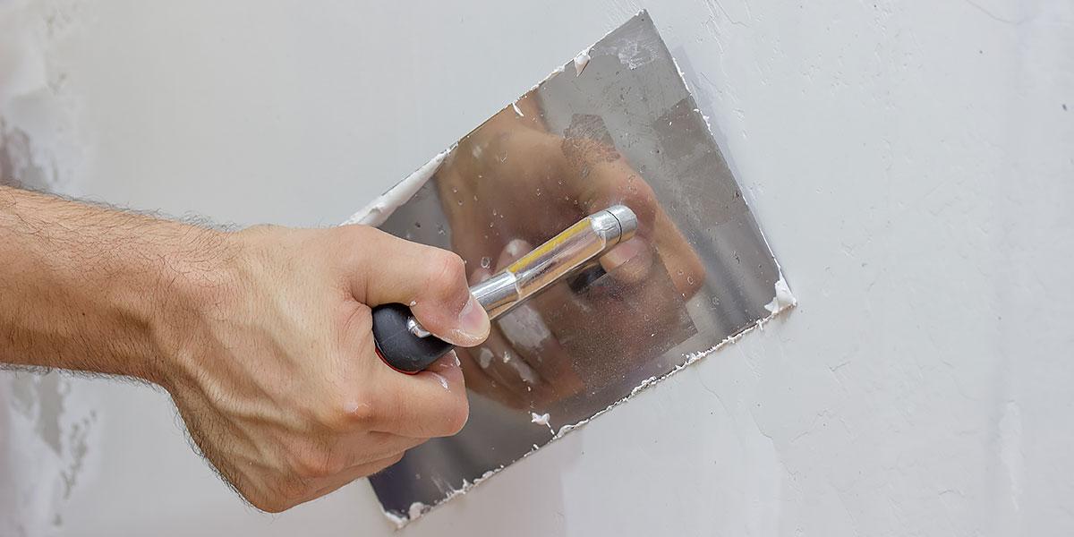 Цементная шпаклевка известковая