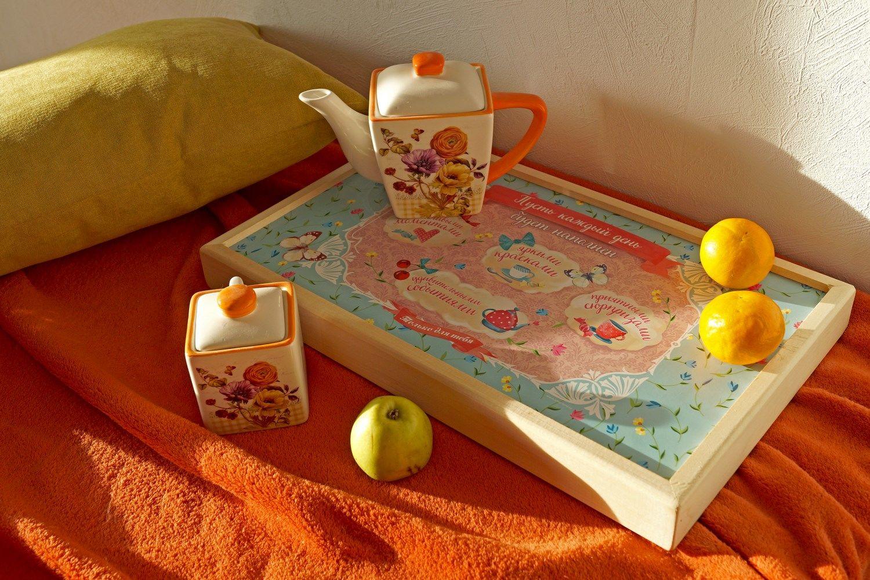 Столик для завтрака в стиле кантри