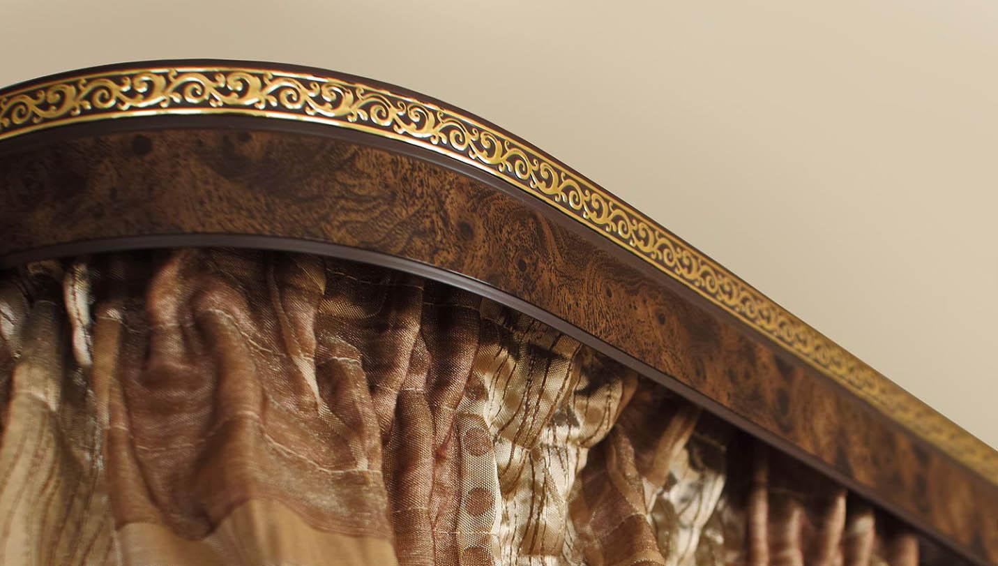 Багетные шторы в интерьере: роскошь дворцовой обстановки (21 фото)