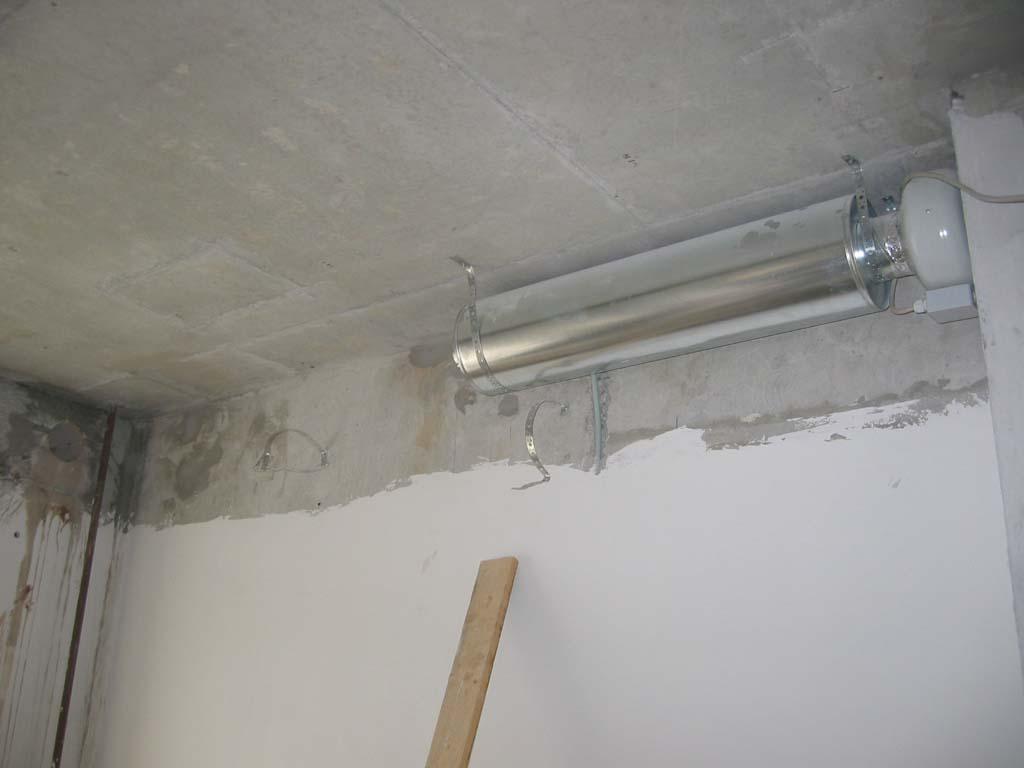 Комбинированная вентиляция на кухне