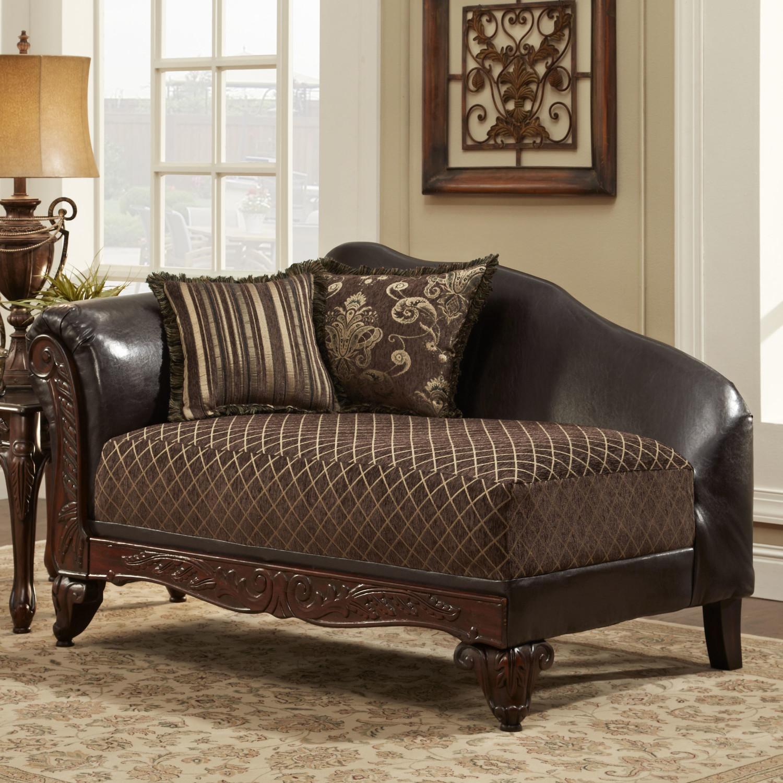Коричневый диван кушетка