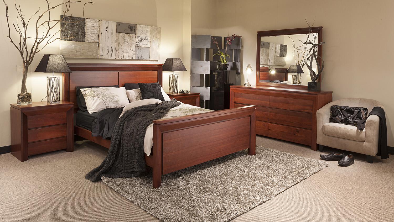Мебель из красного дерева для спальни