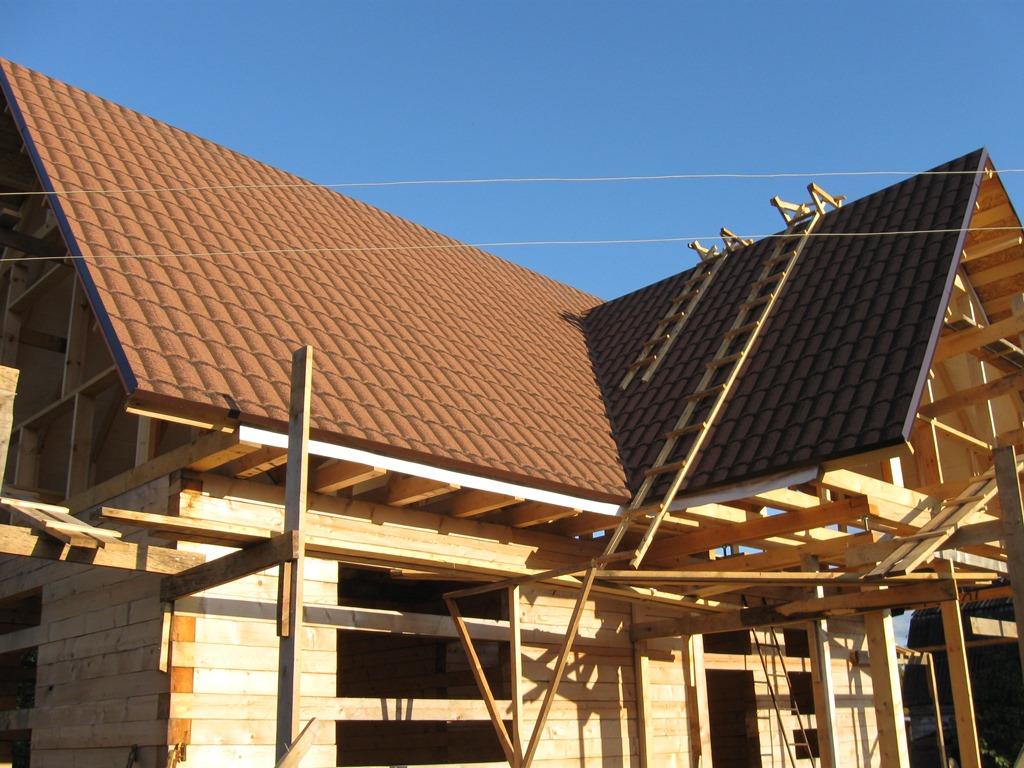 Рулонная черепица для крыши