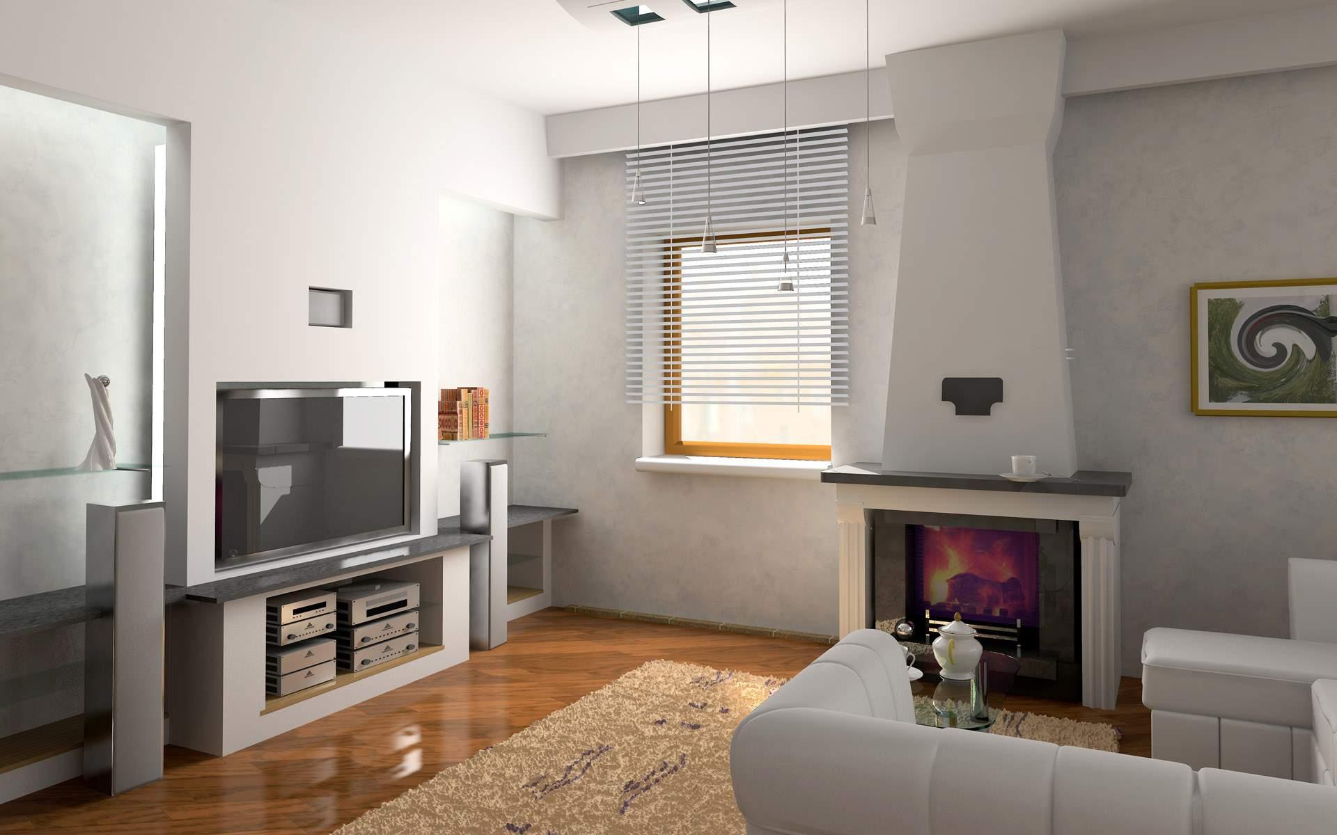 Глянцевый ламинат в квартире